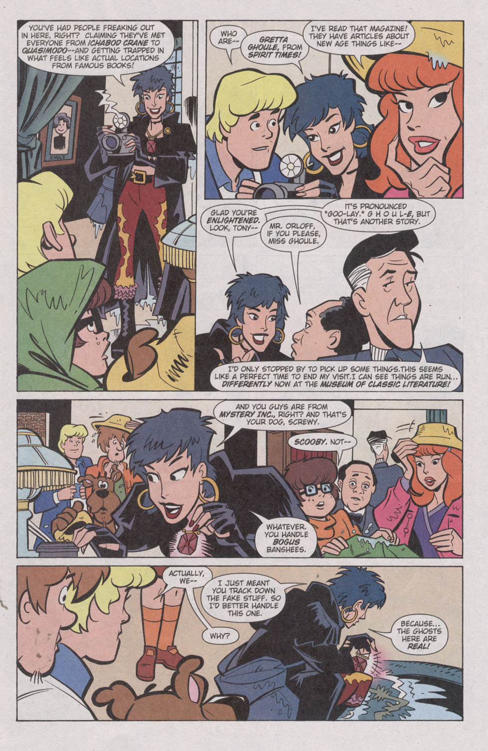 Read online Scooby-Doo (1997) comic -  Issue #82 - 5