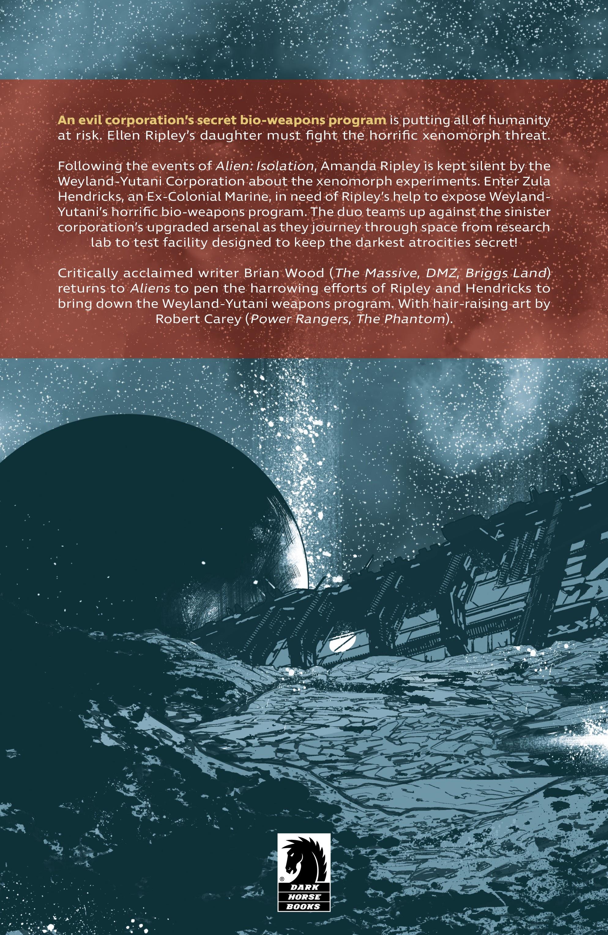 Read online Aliens: Resistance comic -  Issue # _TPB - 97