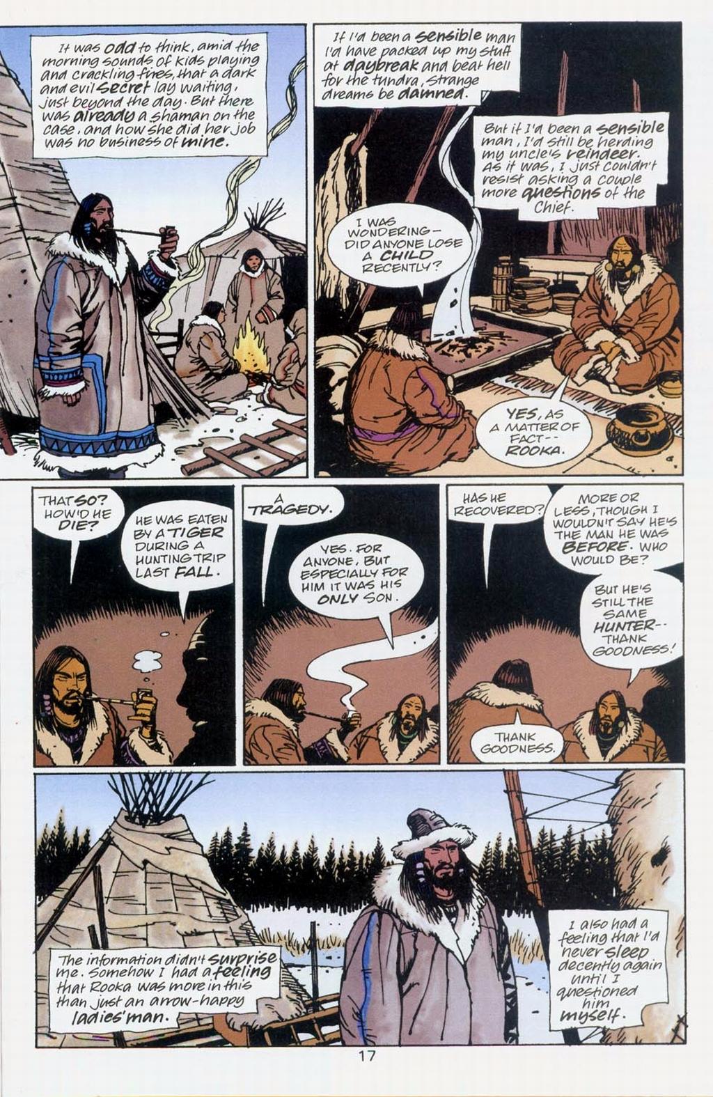 Muktuk Wolfsbreath: Hard-Boiled Shaman issue 1 - Page 17
