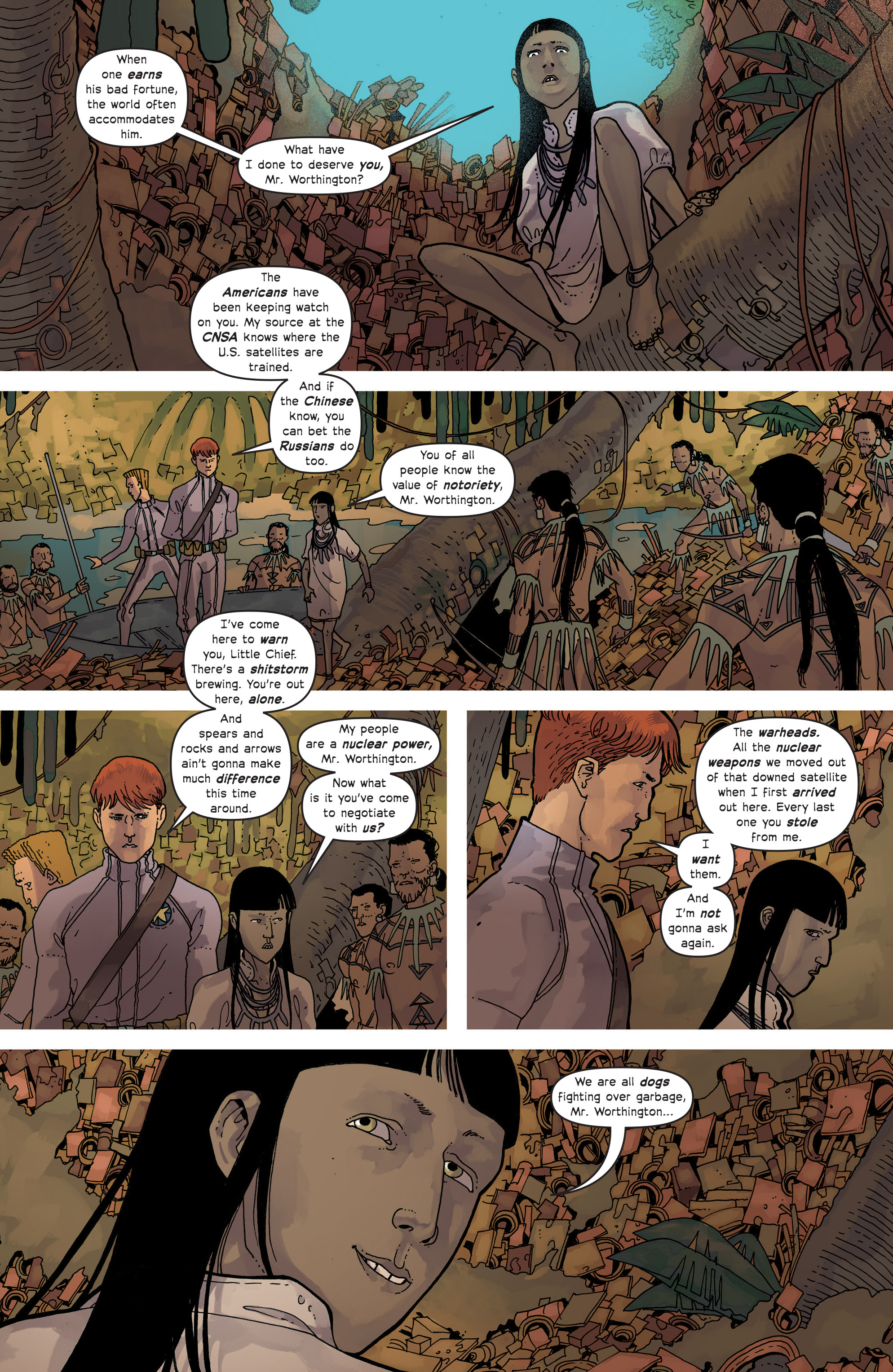 Read online Great Pacific comic -  Issue #15 - 5
