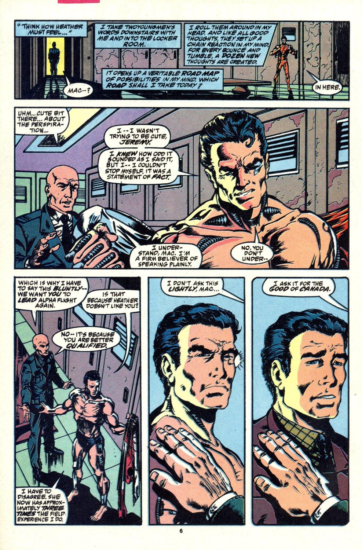 Read online Alpha Flight (1983) comic -  Issue #92 - 6