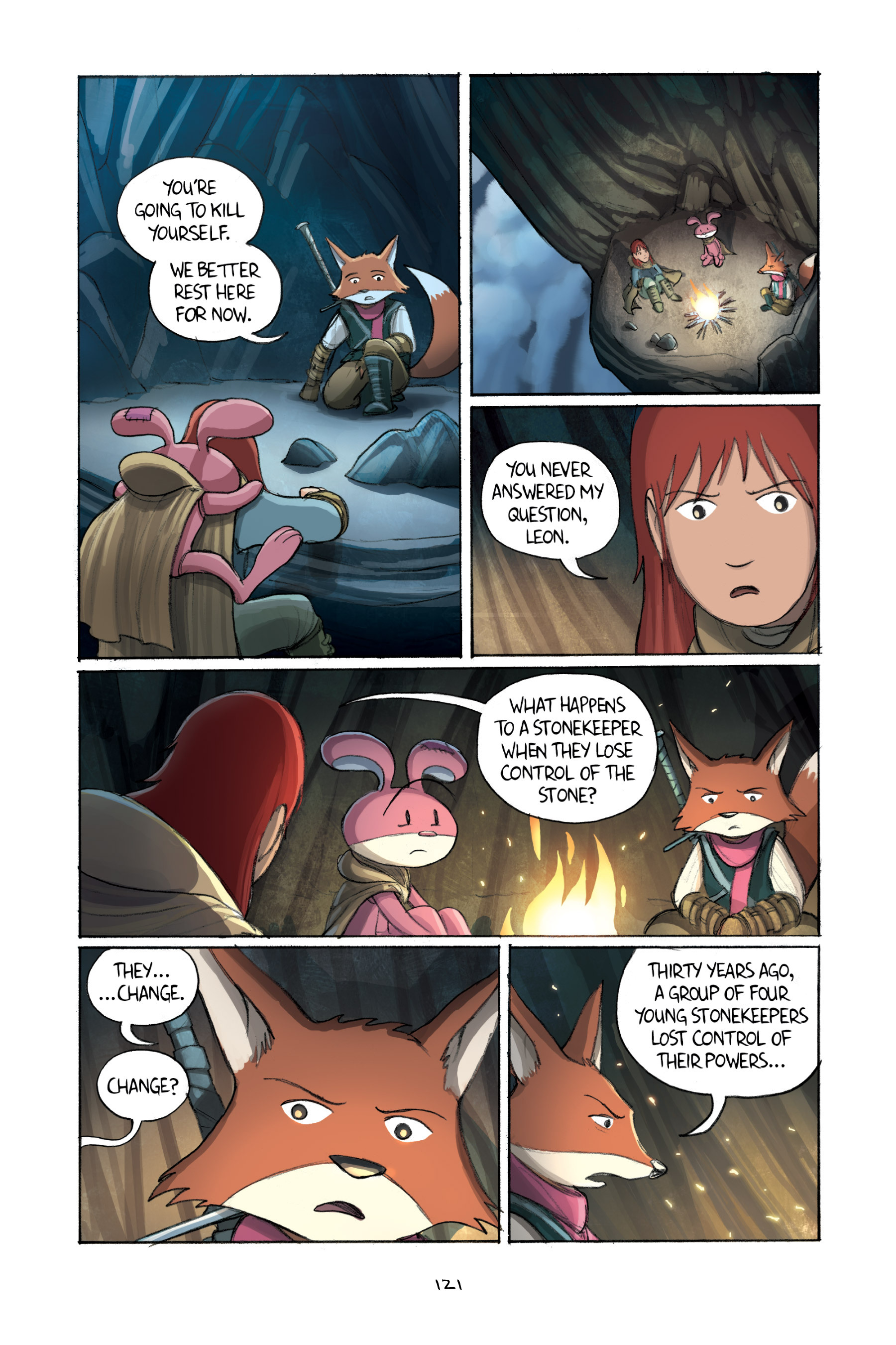 Read online Amulet comic -  Issue #2 - 121