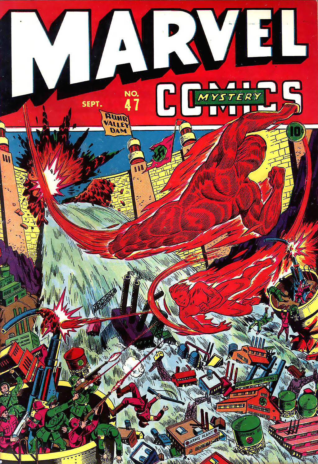Marvel Mystery Comics (1939) issue 47 - Page 1