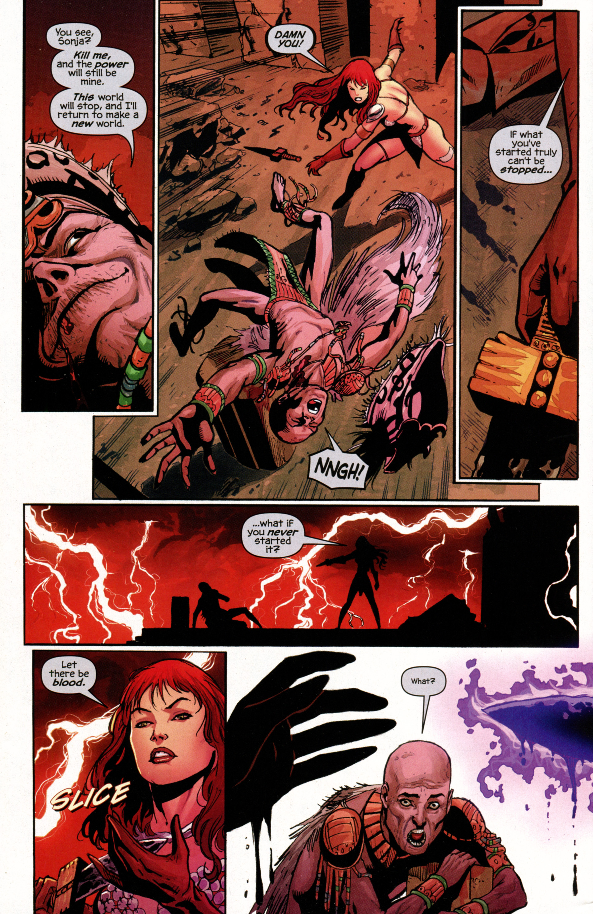 Read online Prophecy comic -  Issue #7 - 8