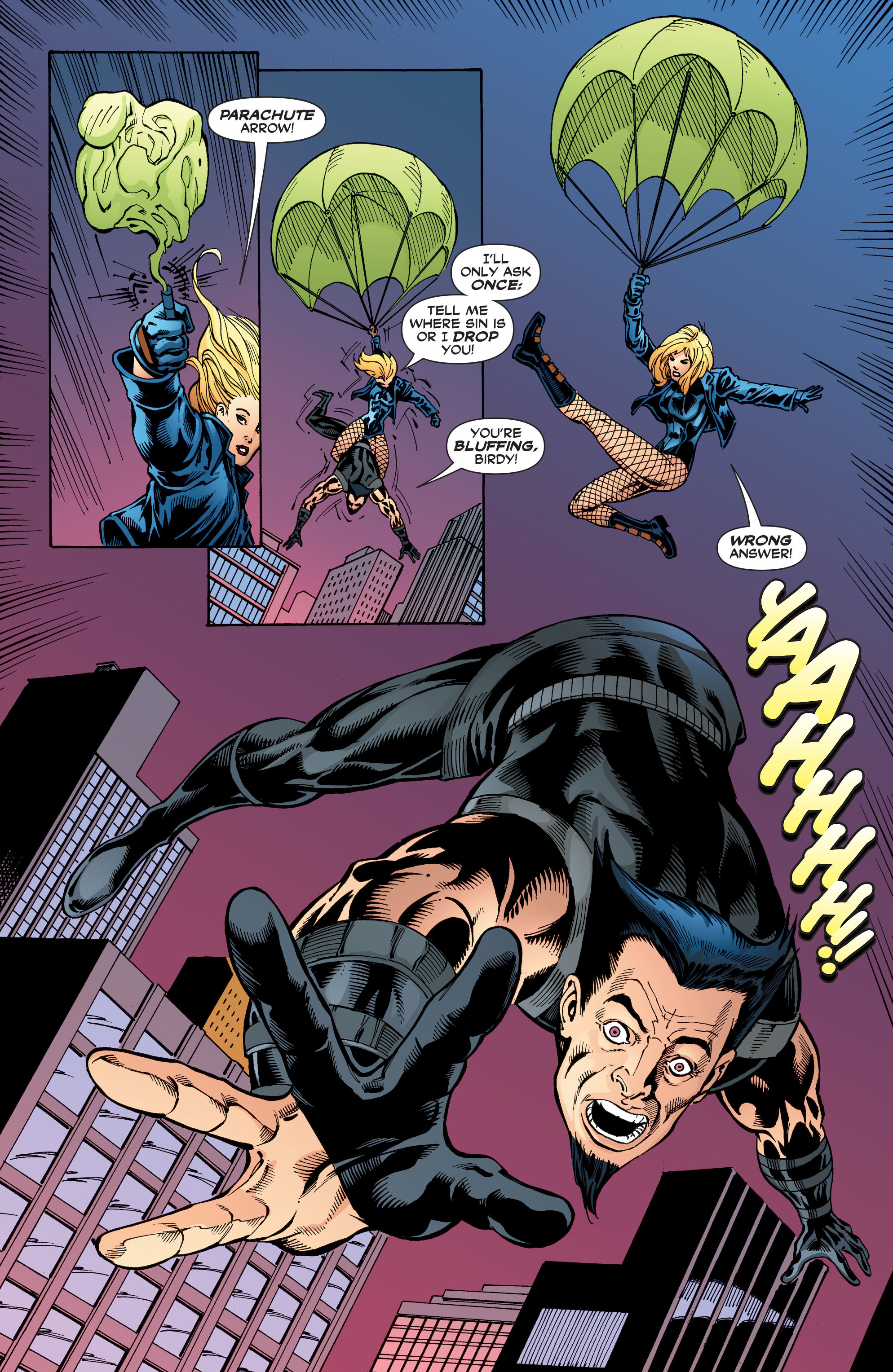 Read online Black Canary (2007) comic -  Issue #3 - 16