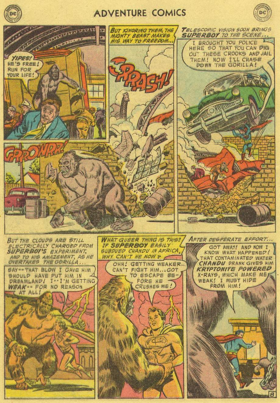 Read online Adventure Comics (1938) comic -  Issue #219 - 10