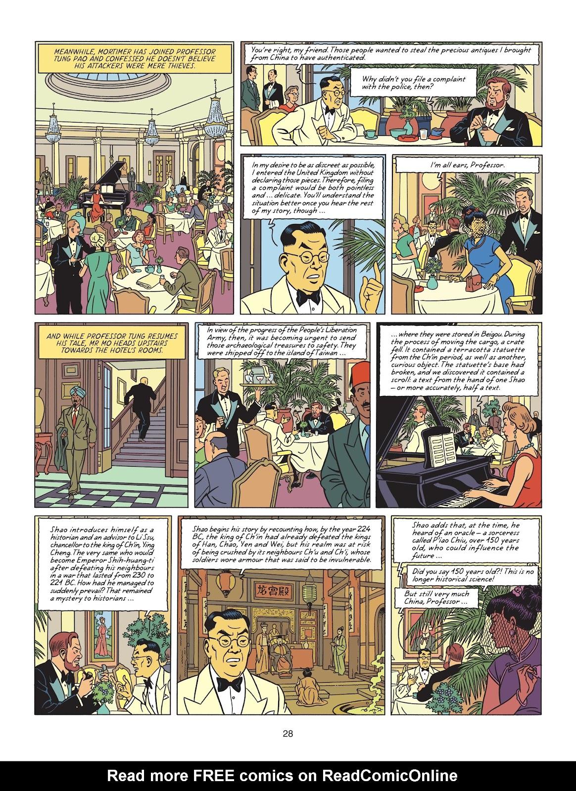 Read online Blake & Mortimer comic -  Issue #25 - 30
