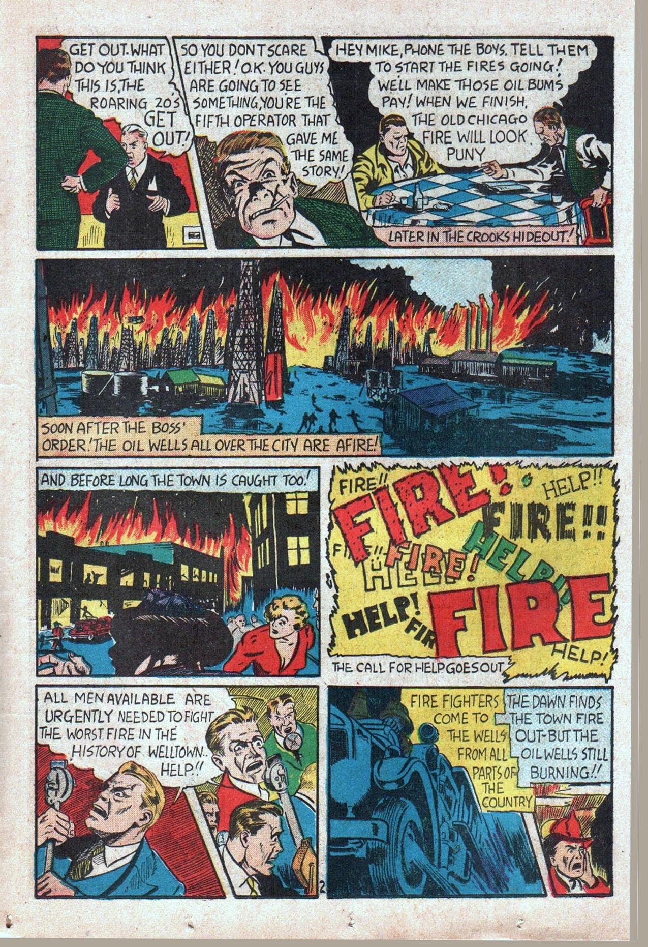 Read online Amazing Man Comics comic -  Issue #20 - 44