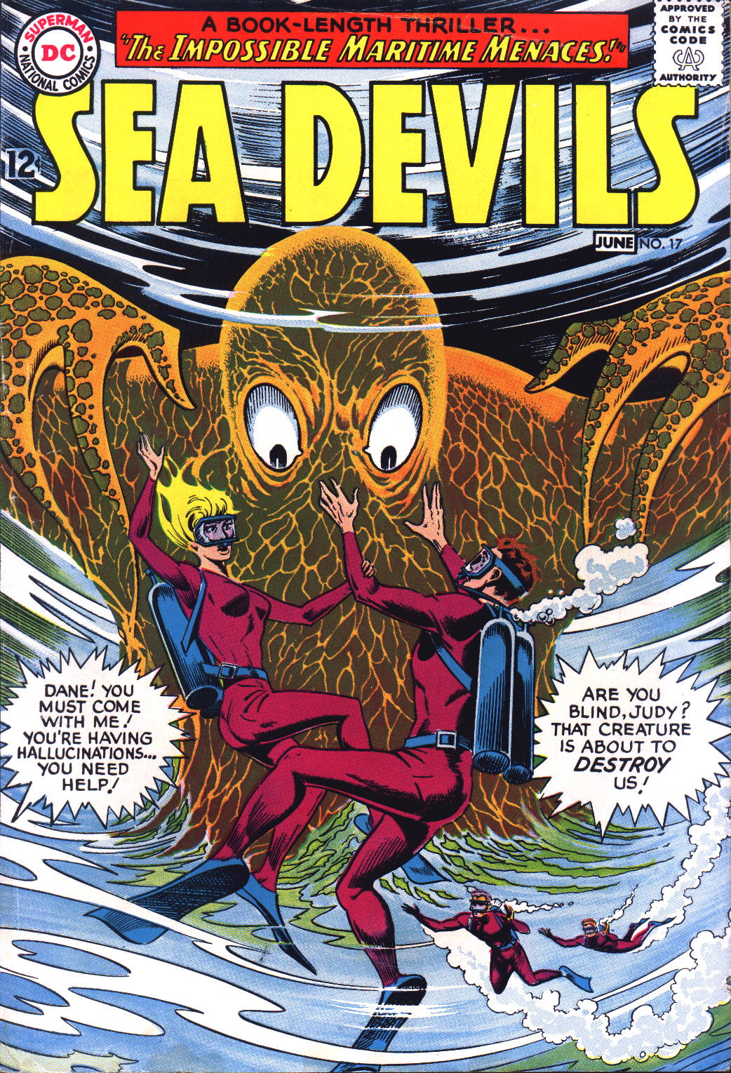 Read online Sea Devils comic -  Issue #17 - 1