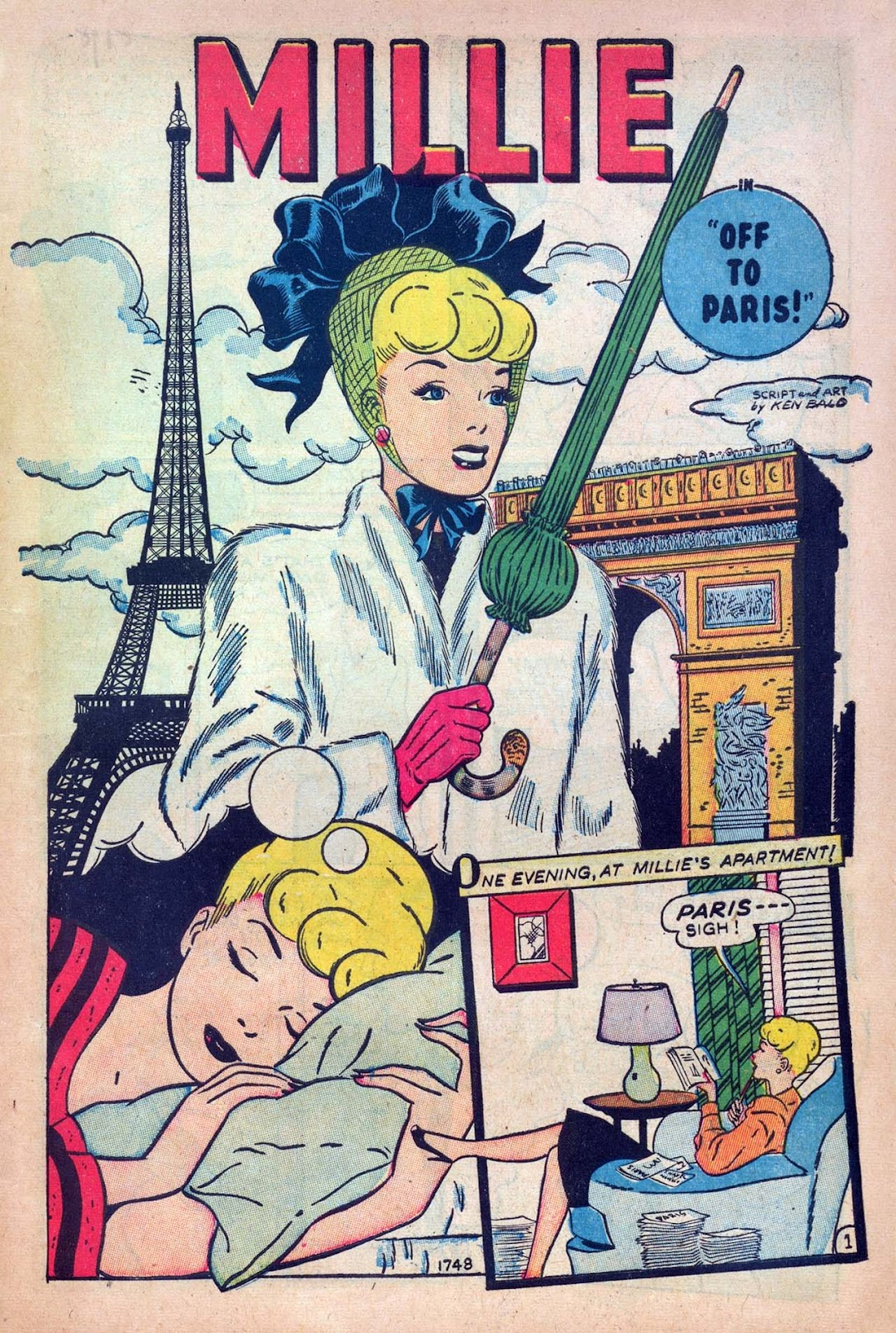 Read online Millie the Model comic -  Issue #9 - 3