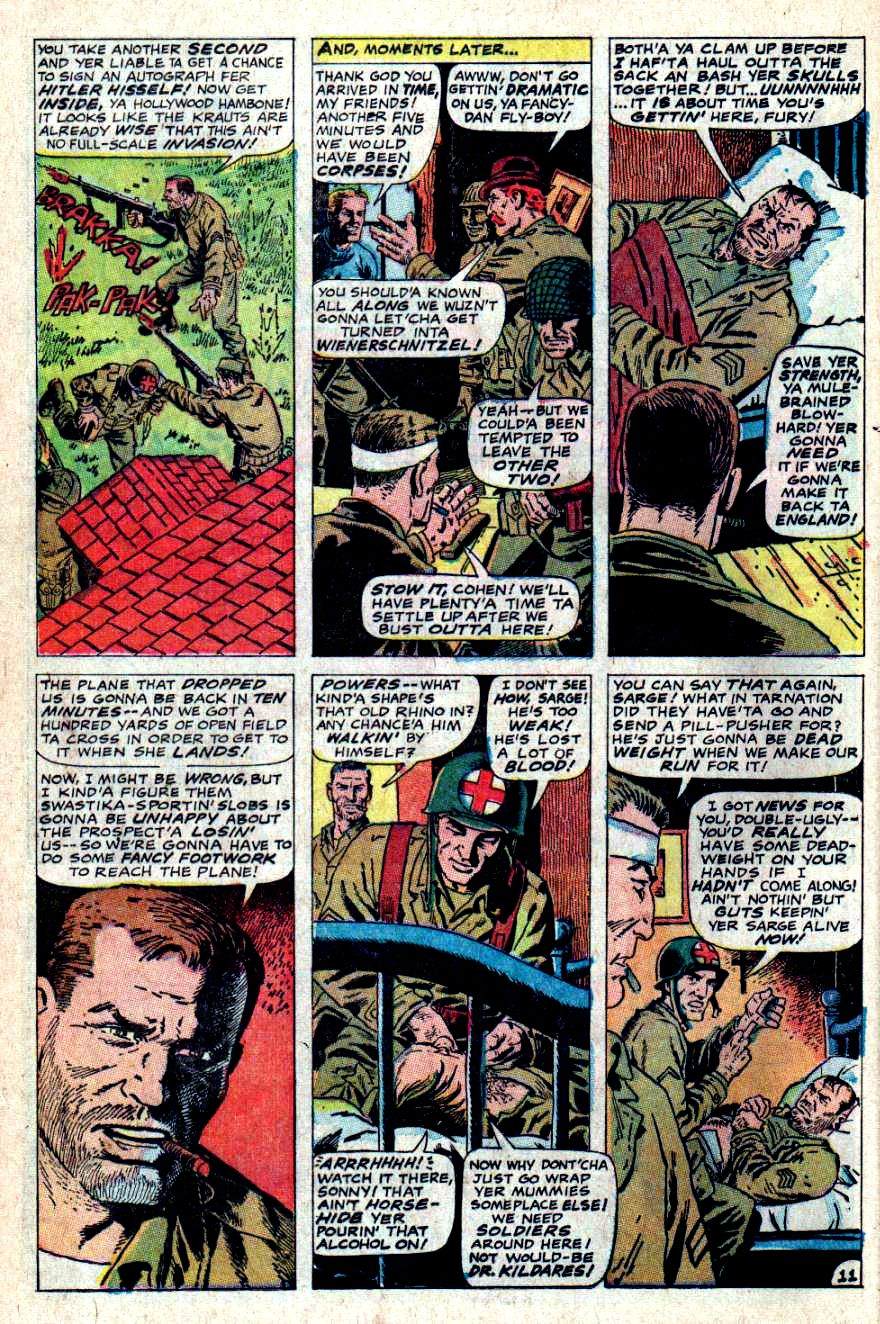 Read online Sgt. Fury comic -  Issue #46 - 16