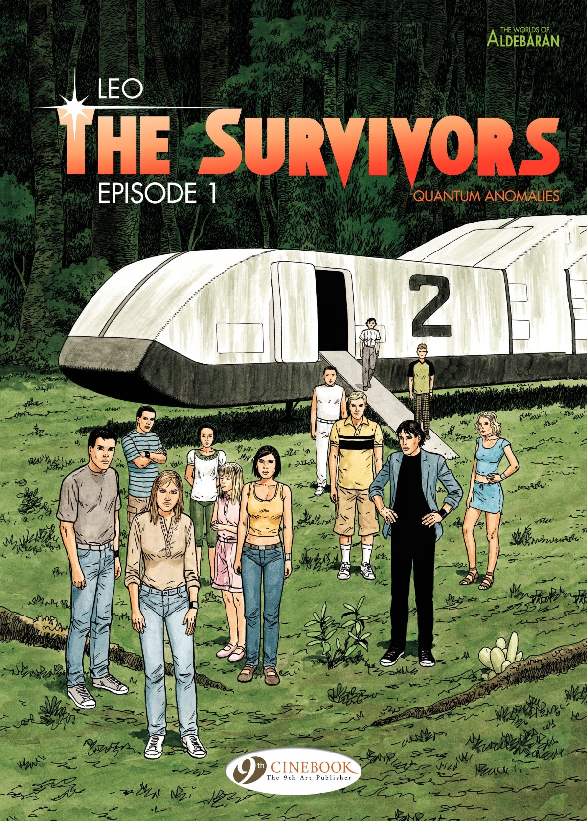 The Survivors issue 1 - Page 1