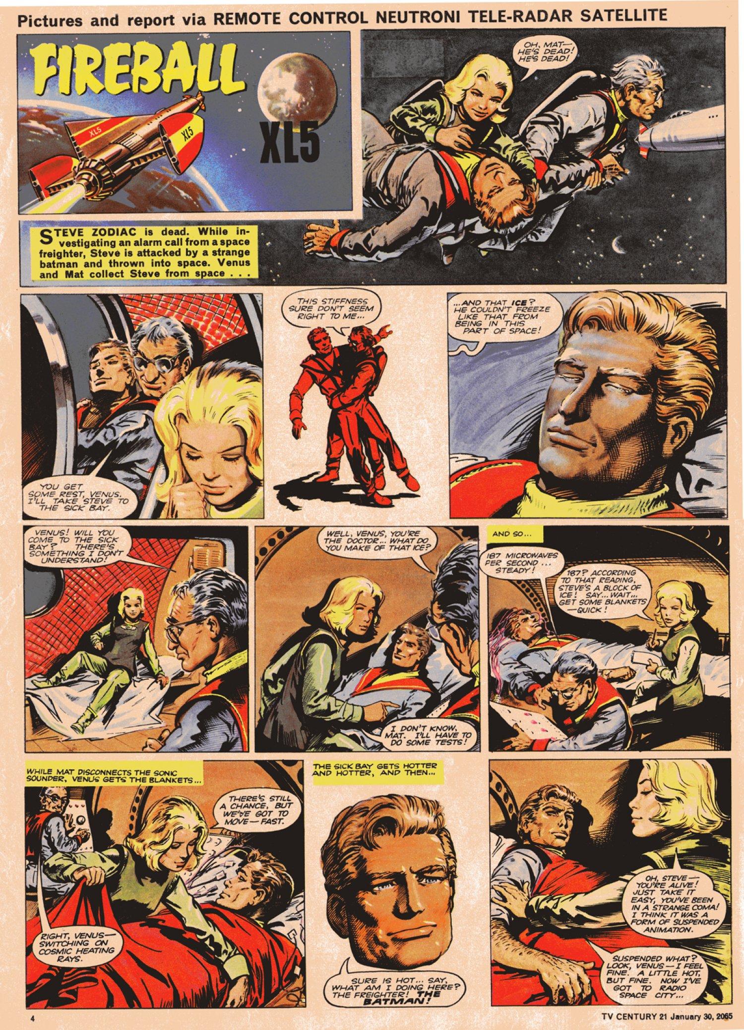 Read online TV Century 21 (TV 21) comic -  Issue #2 - 4