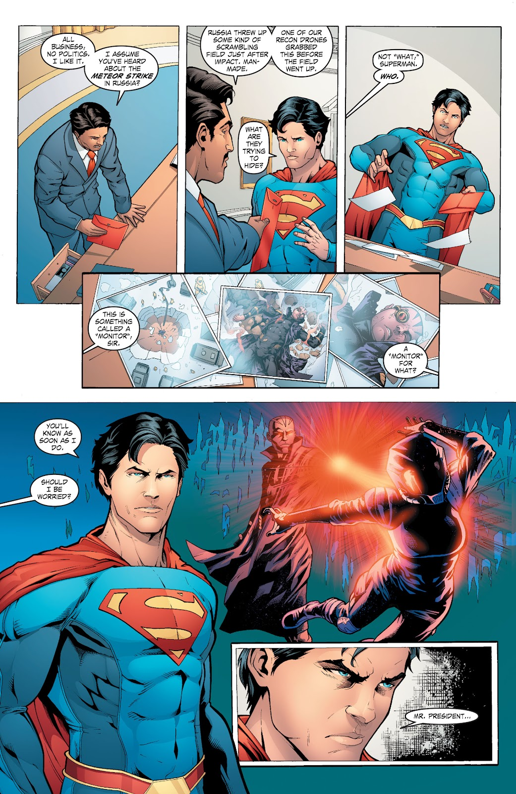 Read online Smallville Season 11 [II] comic -  Issue # TPB 6 - 61