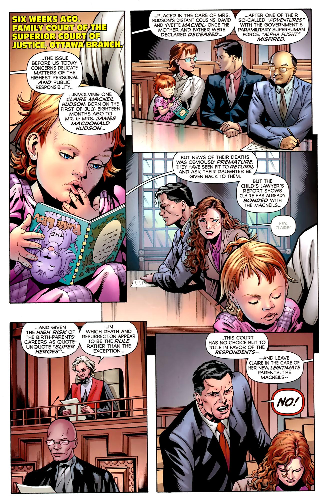 Read online Alpha Flight (2011) comic -  Issue #2 - 4