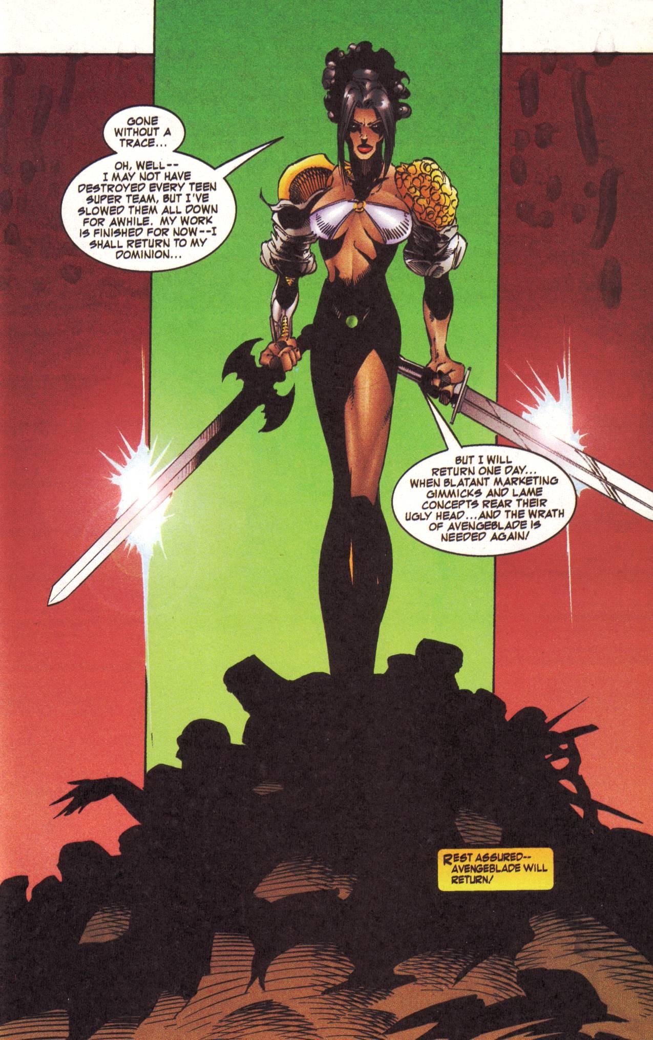 Read online Avengeblade comic -  Issue #2 - 23