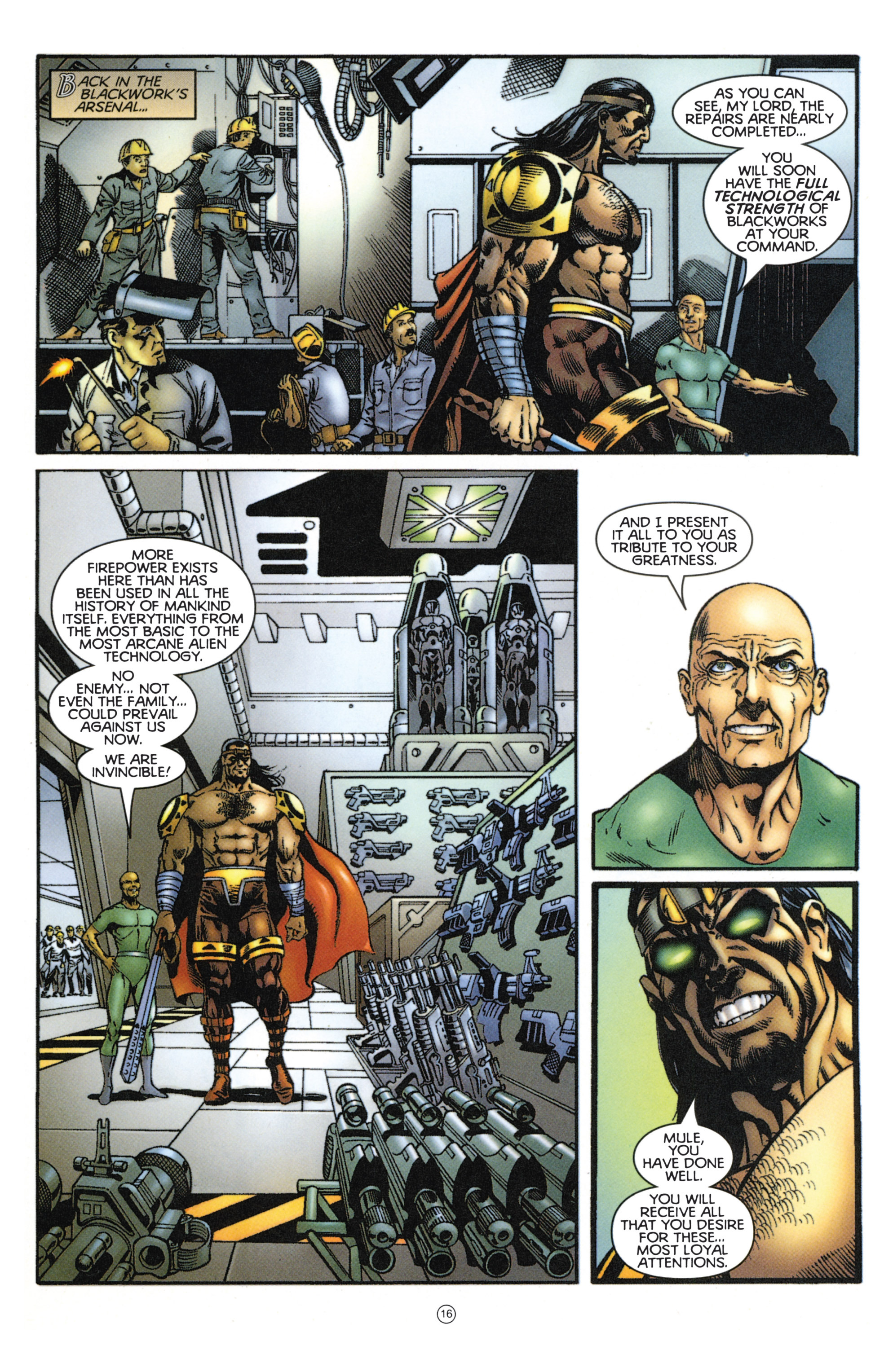 Read online Eternal Warriors comic -  Issue # Issue Mog - 14