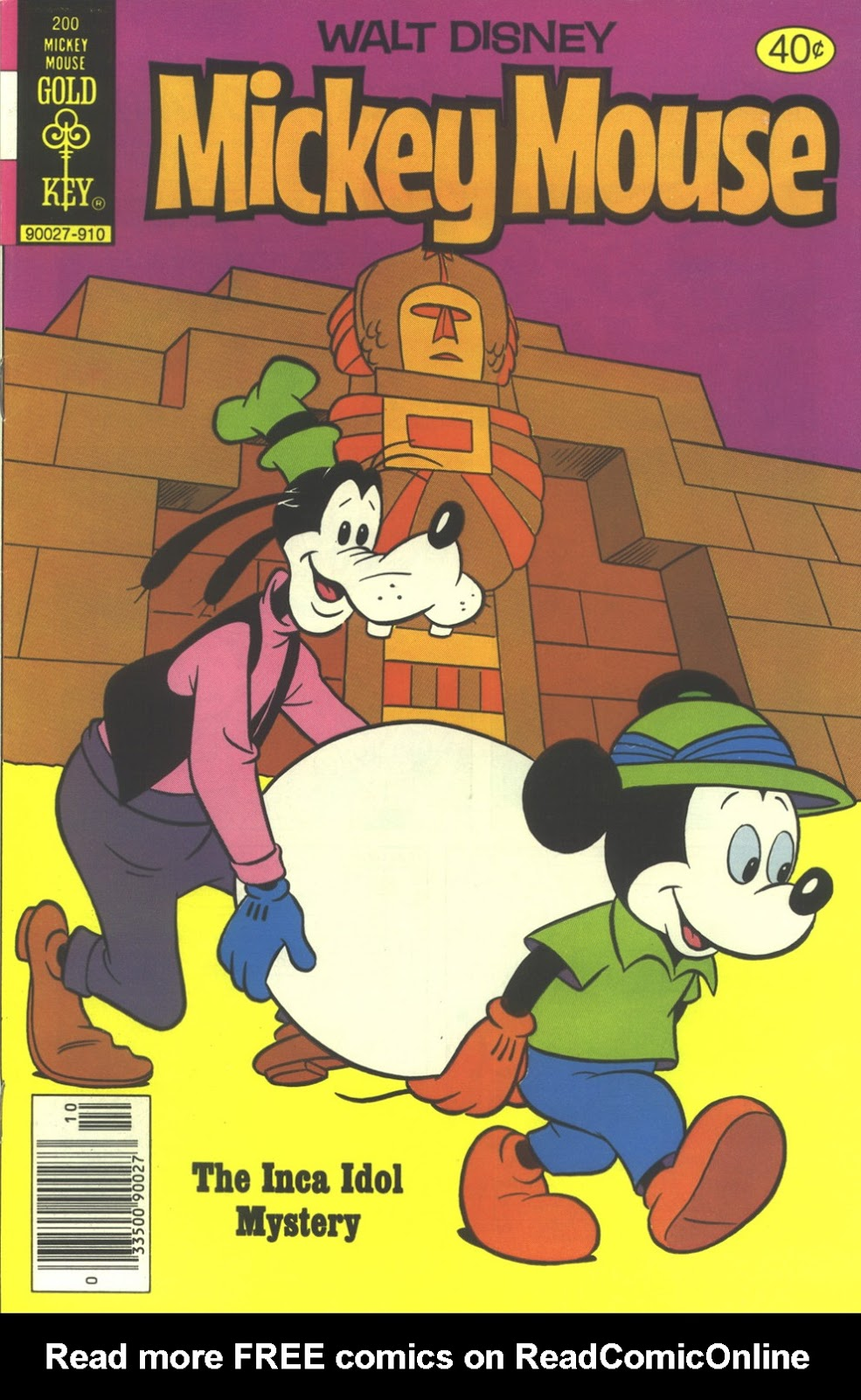 Walt Disney's Mickey Mouse issue 200 - Page 1