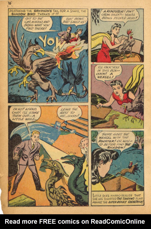 Read online Shadow Comics comic -  Issue #32 - 17