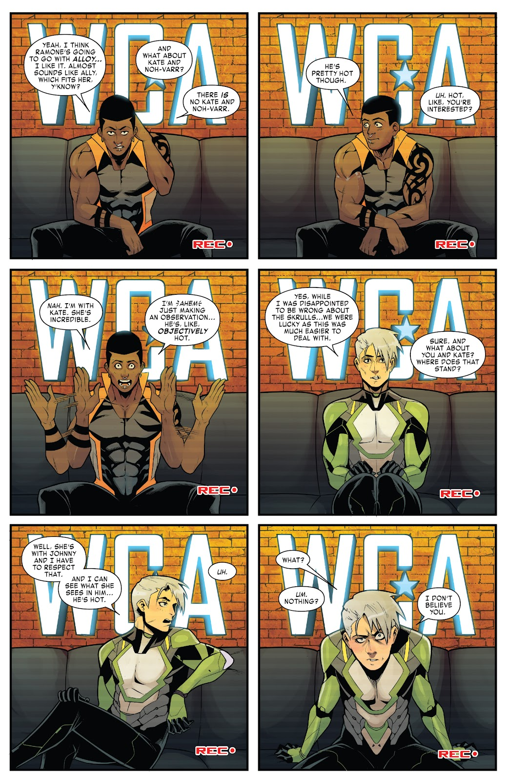 Read online West Coast Avengers (2018) comic -  Issue #10 - 17