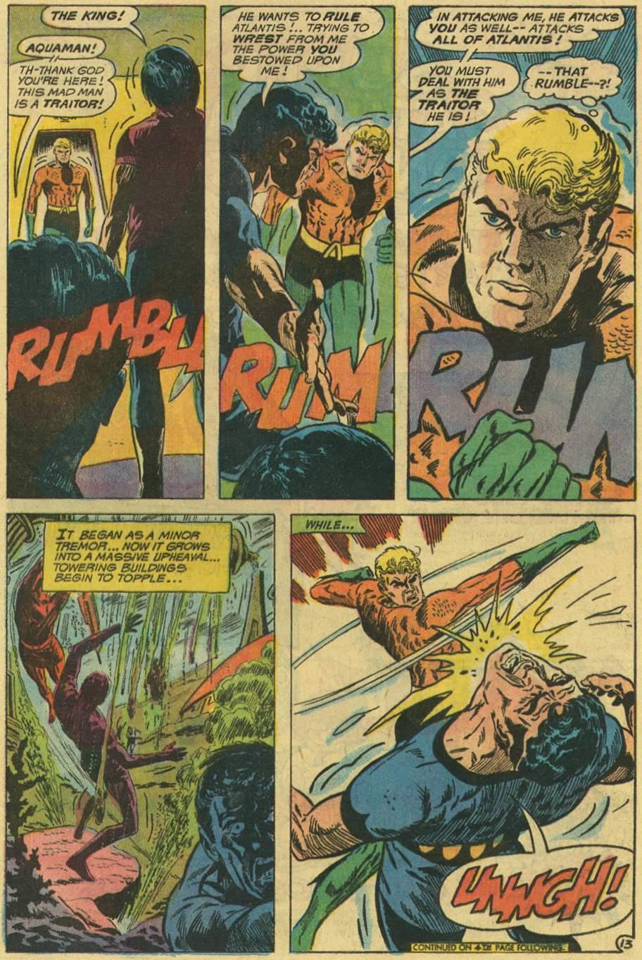 Read online Aquaman (1962) comic -  Issue #48 - 17