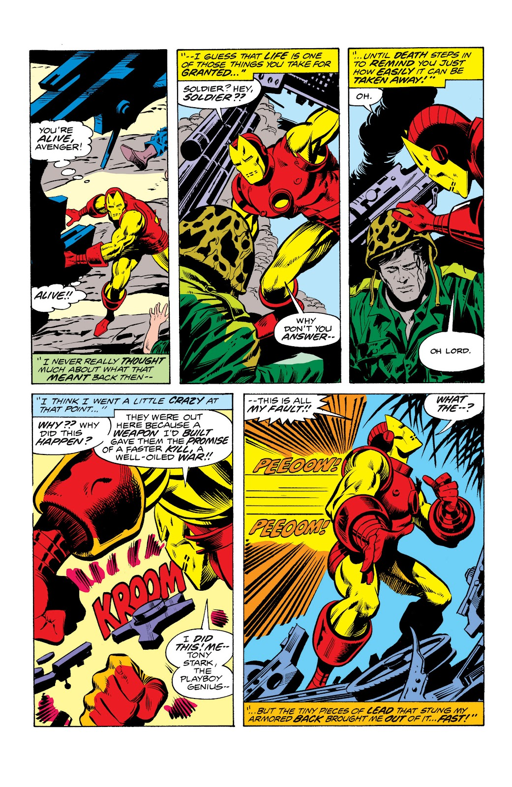 Read online Marvel Masterworks: The Invincible Iron Man comic -  Issue # TPB 10 (Part 2) - 86