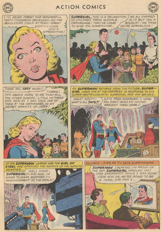 Read online Action Comics (1938) comic -  Issue #285 - 29