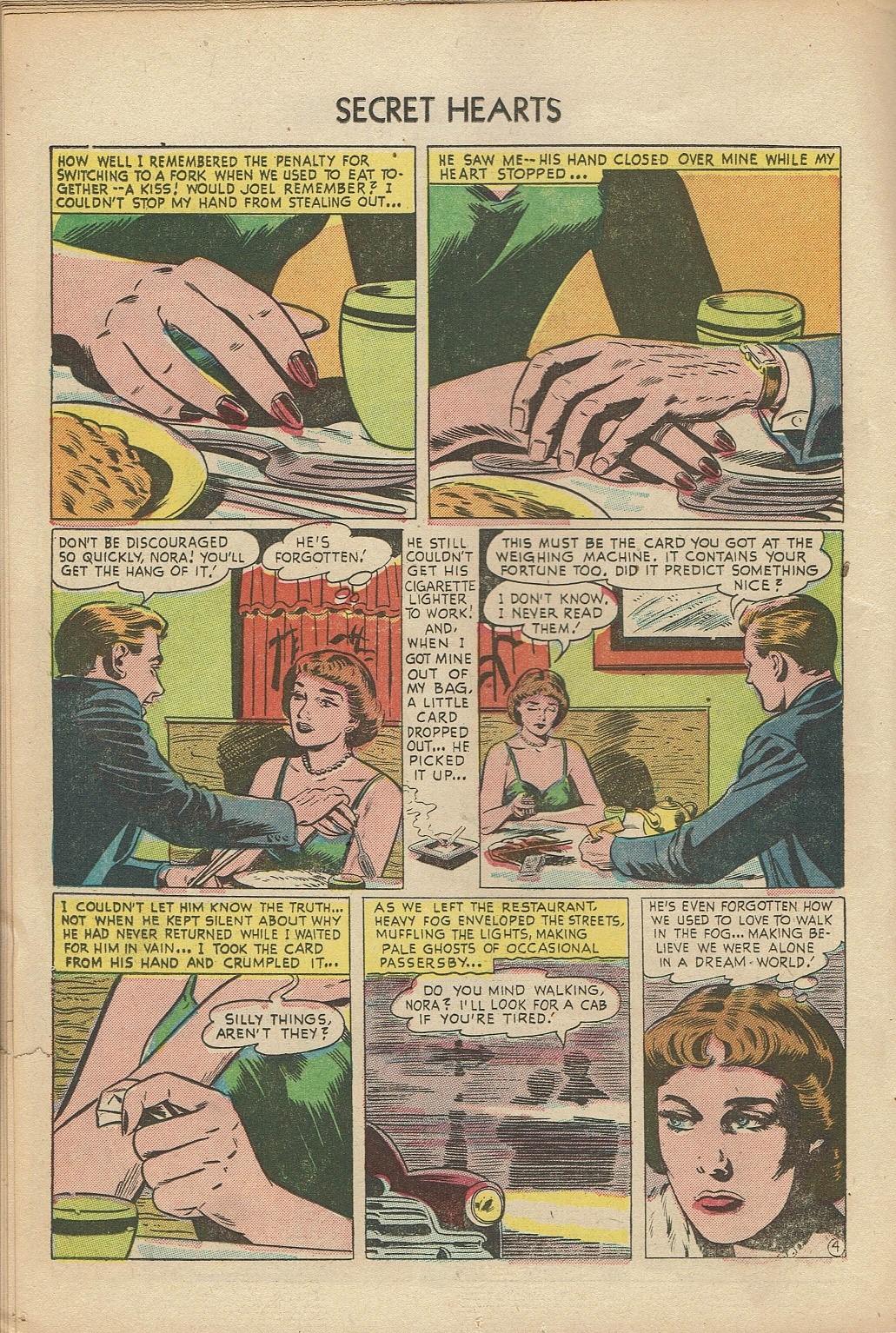 Read online Secret Hearts comic -  Issue #14 - 14