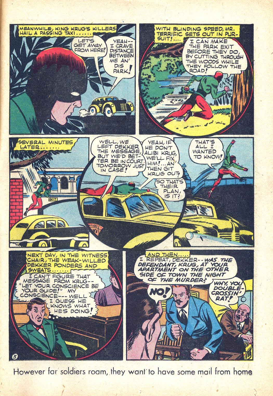 Read online Sensation (Mystery) Comics comic -  Issue #34 - 37