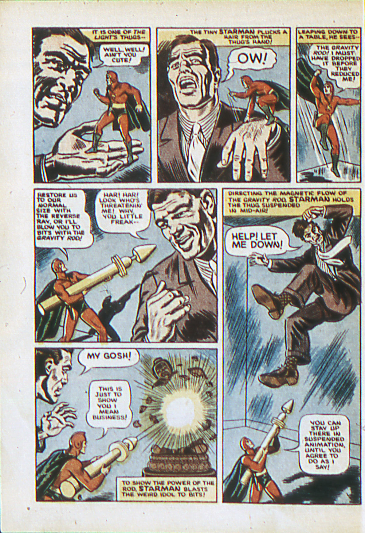 Read online Adventure Comics (1938) comic -  Issue #62 - 11