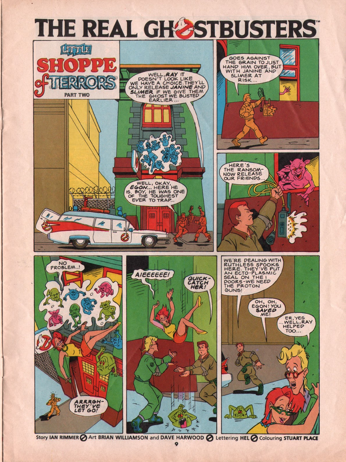 The Real Ghostbusters Issue #5 #7 - English 9