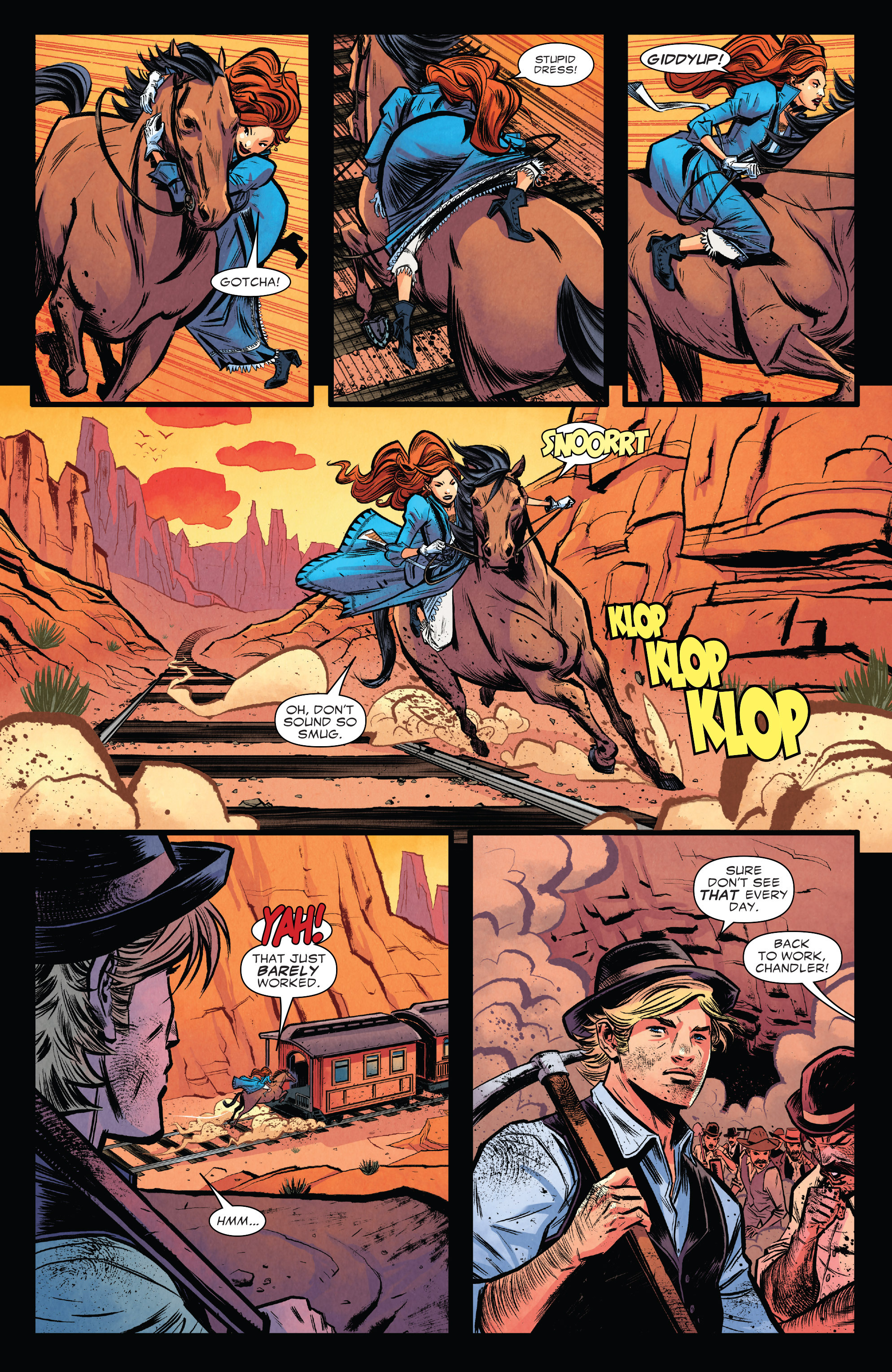 Read online Big Thunder Mountain Railroad comic -  Issue #1 - 9