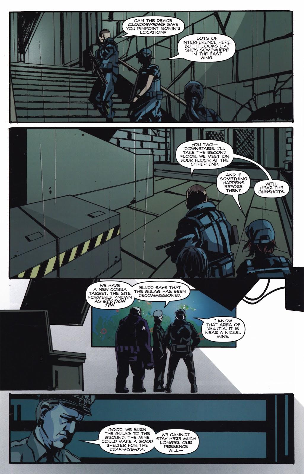 G.I. Joe Cobra (2011) Issue #20 #20 - English 16