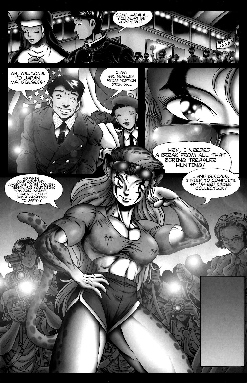 Warrior Nun Areala:  Dangerous Game Issue #3 #3 - English 28