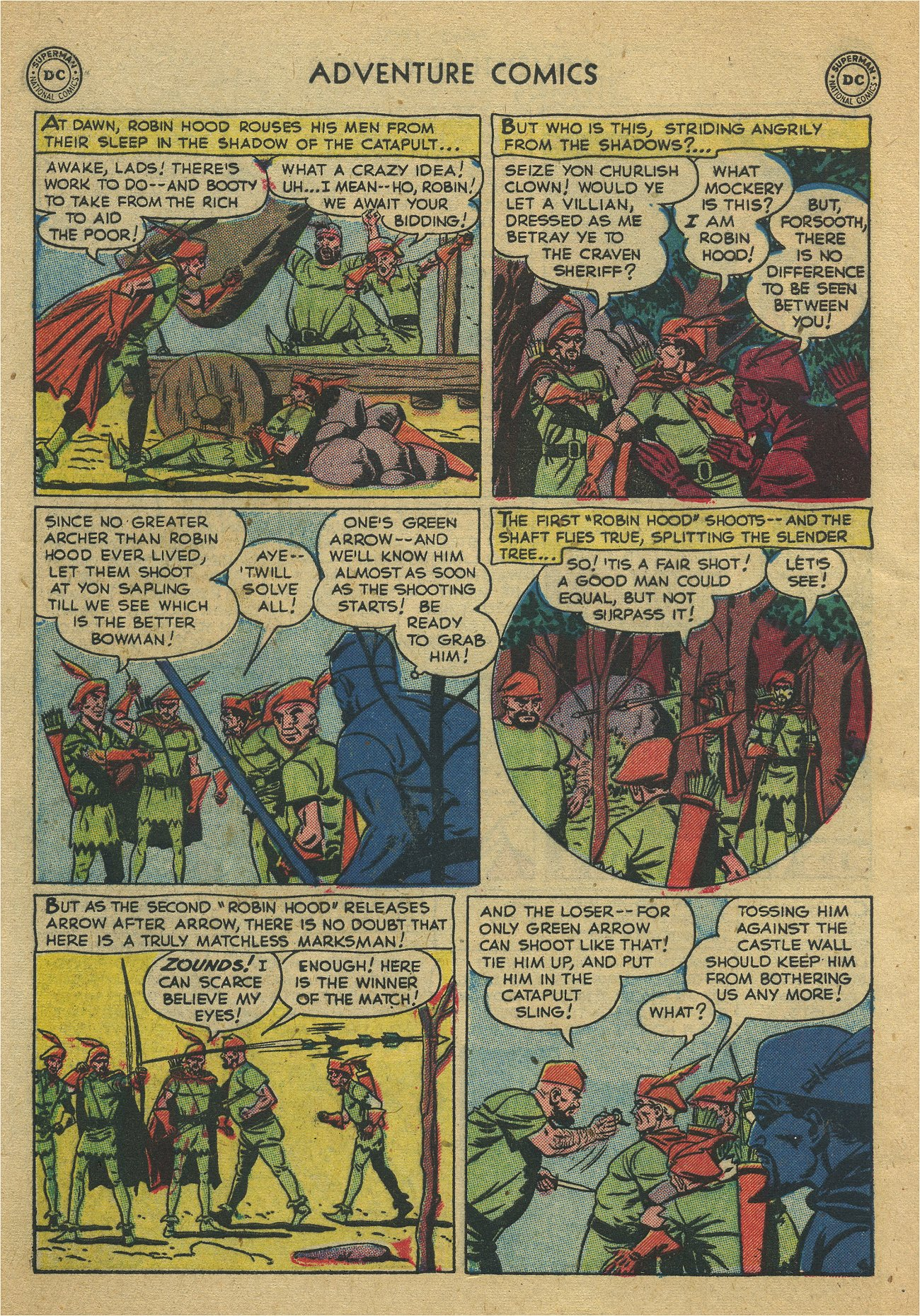Read online Adventure Comics (1938) comic -  Issue #171 - 38