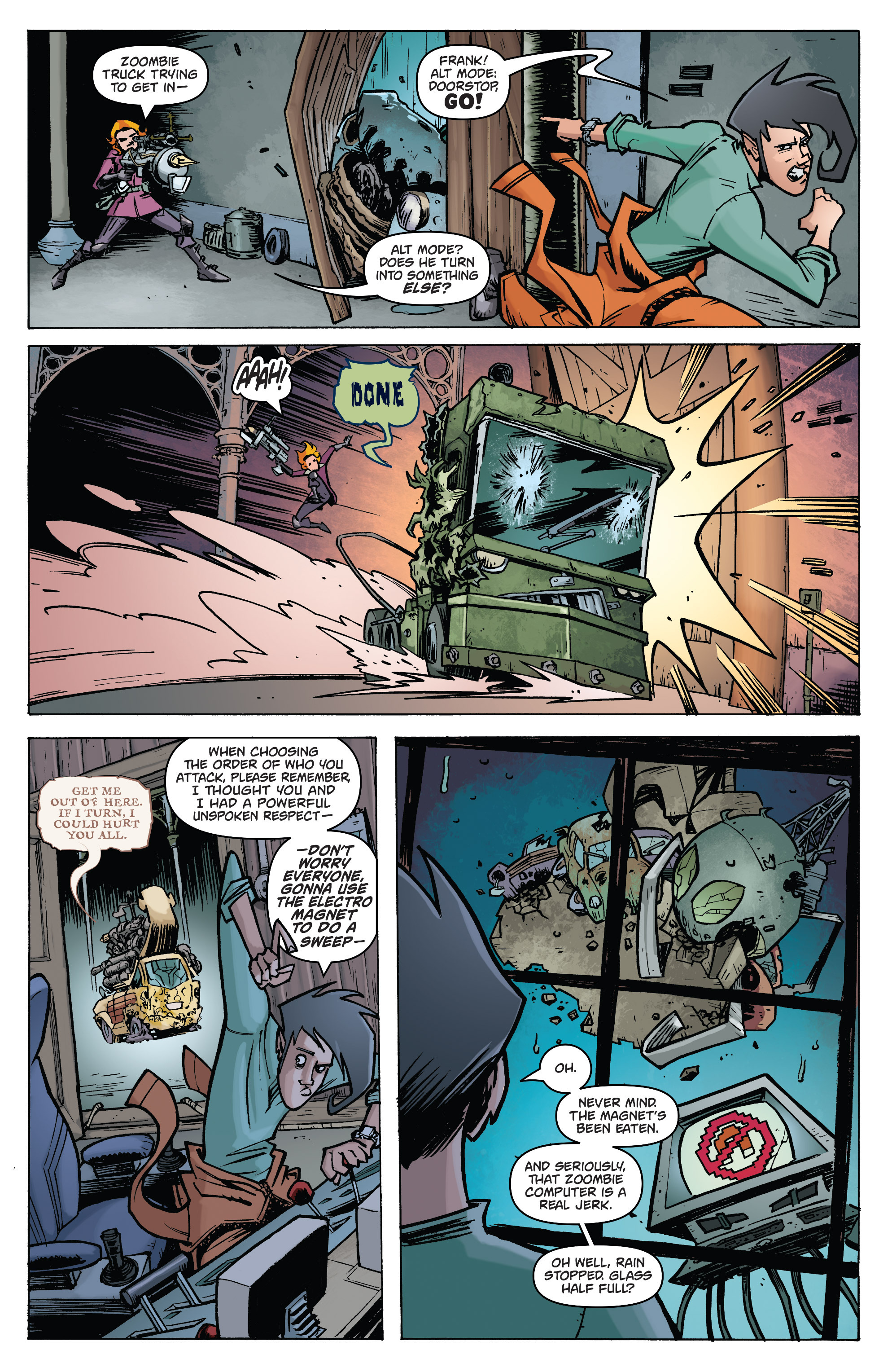 Read online Monster Motors: The Curse of Minivan Helsing comic -  Issue #2 - 8
