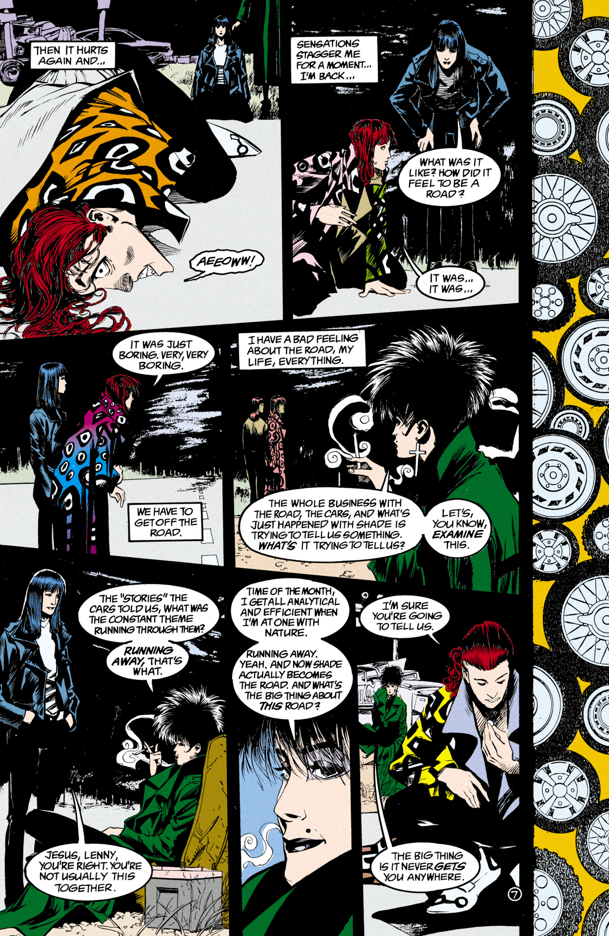 Read online Shade, the Changing Man comic -  Issue #24 - 8