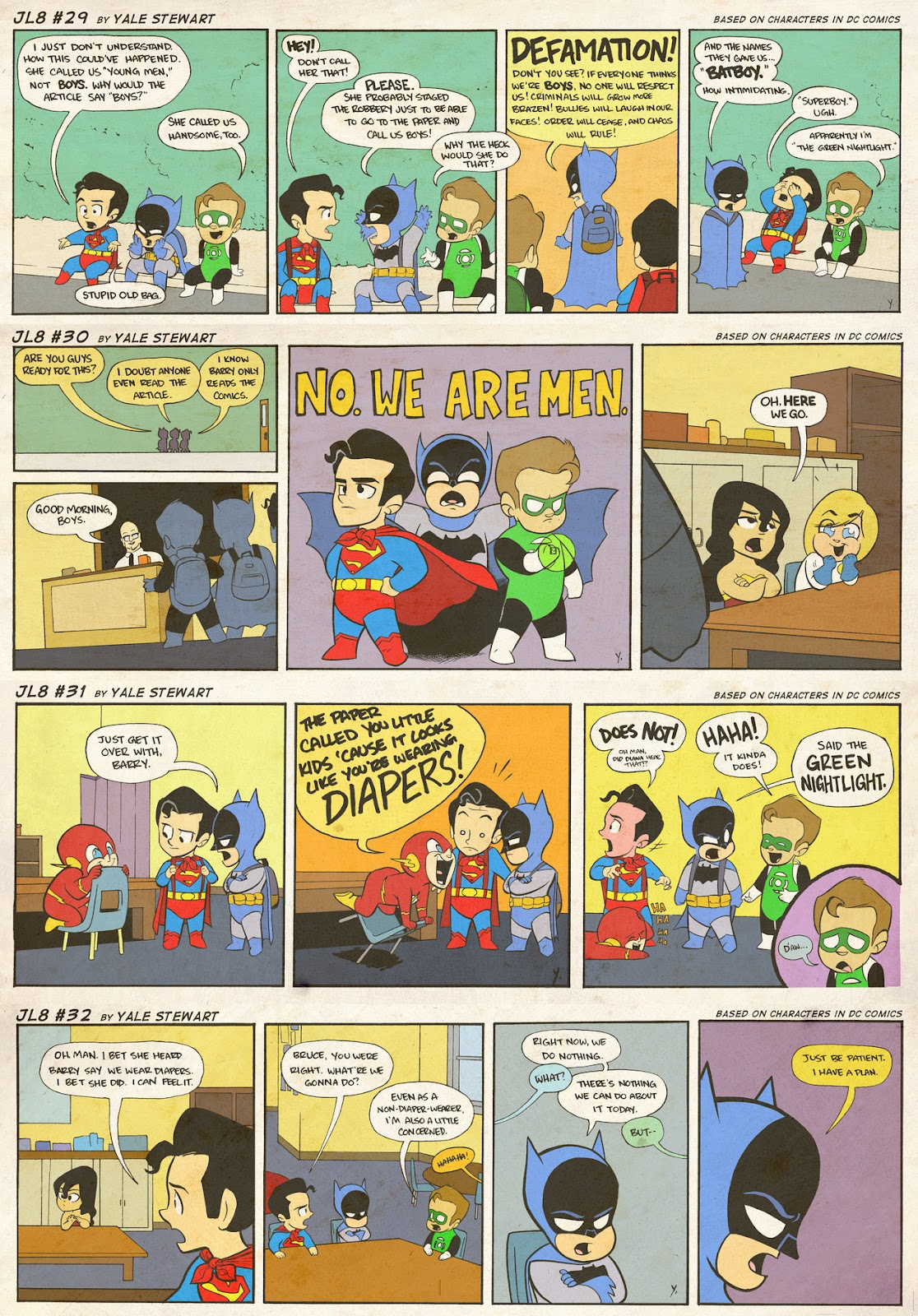 Read online JL8 – The Complete Collection comic -  Issue # TPB (Part 1) - 13