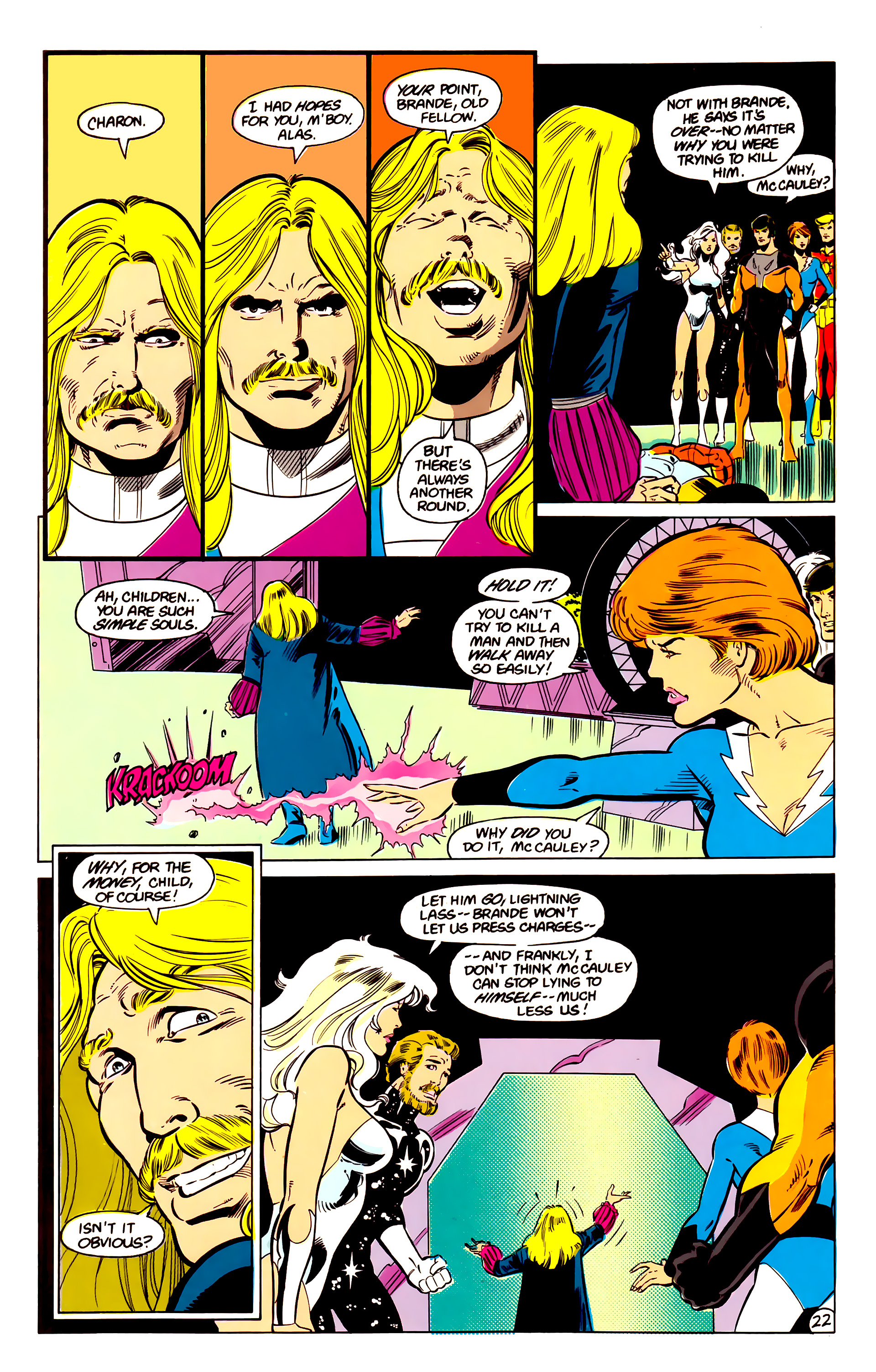 Legion of Super-Heroes (1984) 17 Page 23