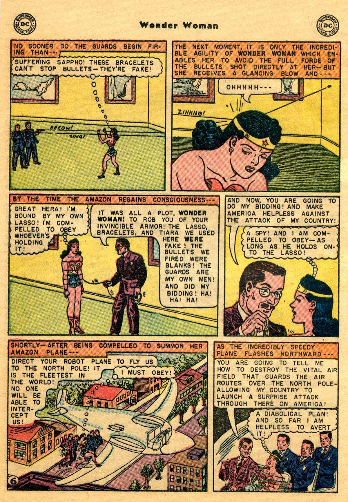 Read online Wonder Woman (1942) comic -  Issue #68 - 20