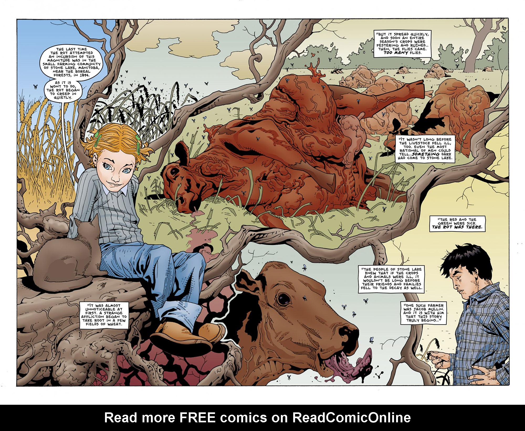 Read online Animal Man (2011) comic -  Issue #Animal Man (2011) _Annual 1 - 6