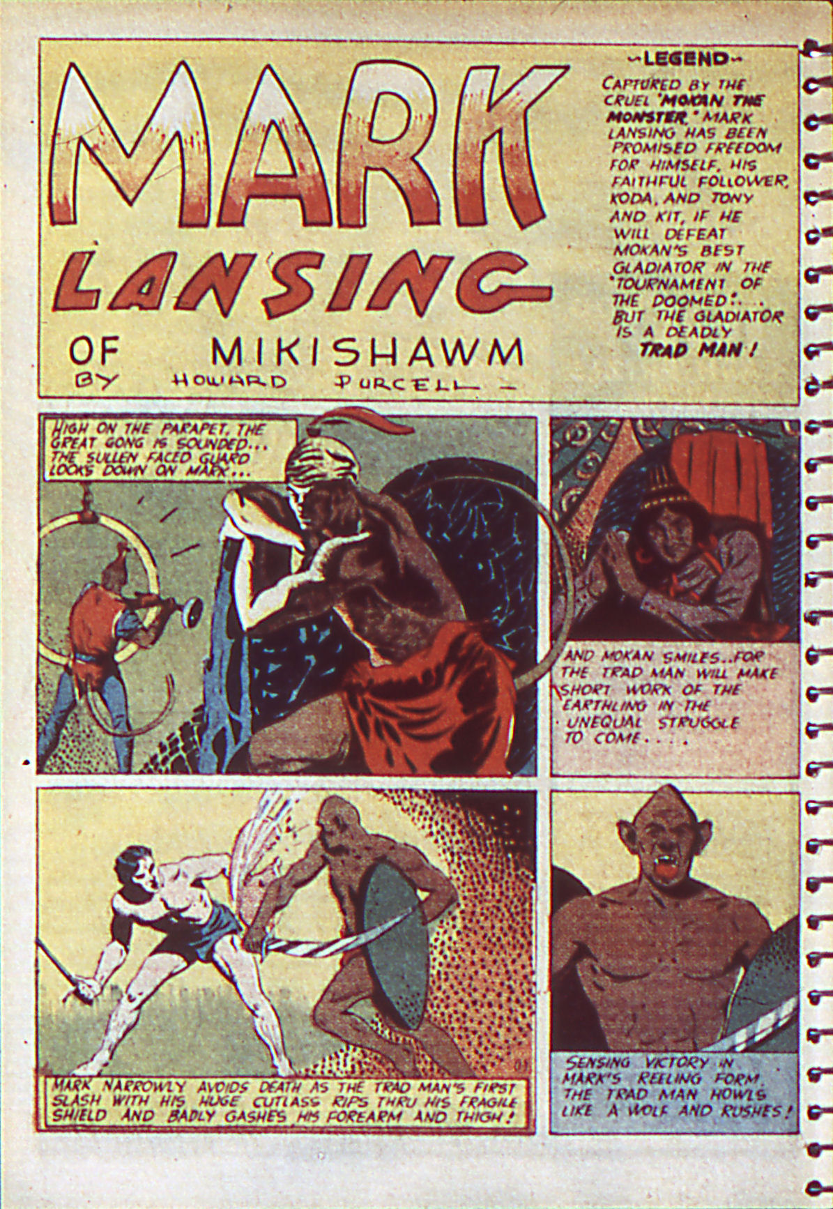 Read online Adventure Comics (1938) comic -  Issue #55 - 21