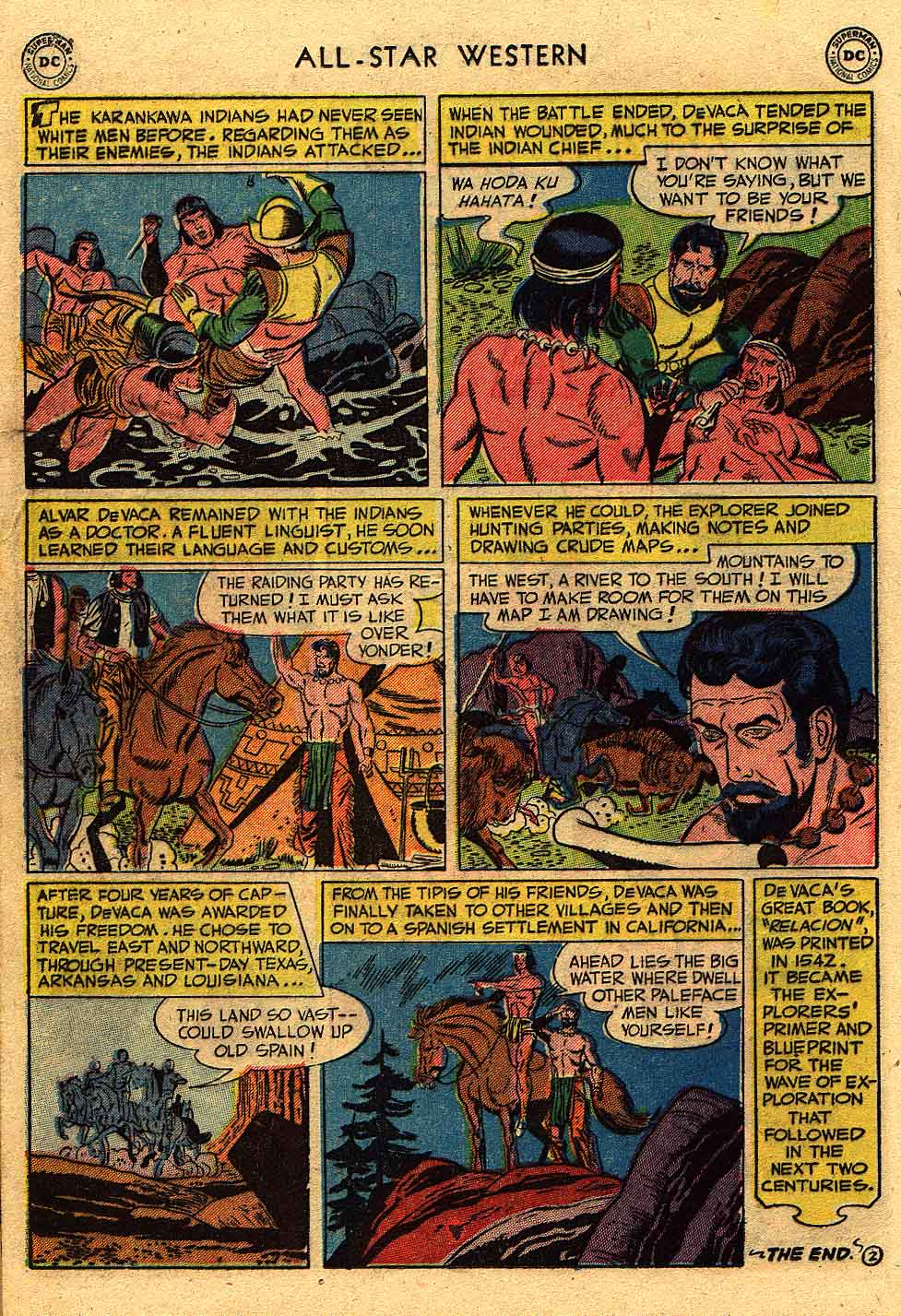 Read online All-Star Western (1951) comic -  Issue #62 - 20