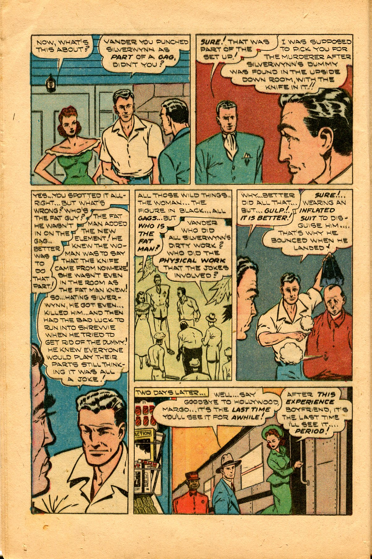 Read online Shadow Comics comic -  Issue #94 - 14