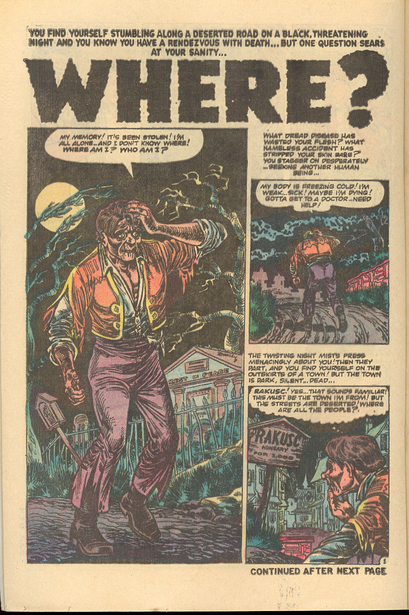 Read online Adventures into Weird Worlds comic -  Issue #5 - 9