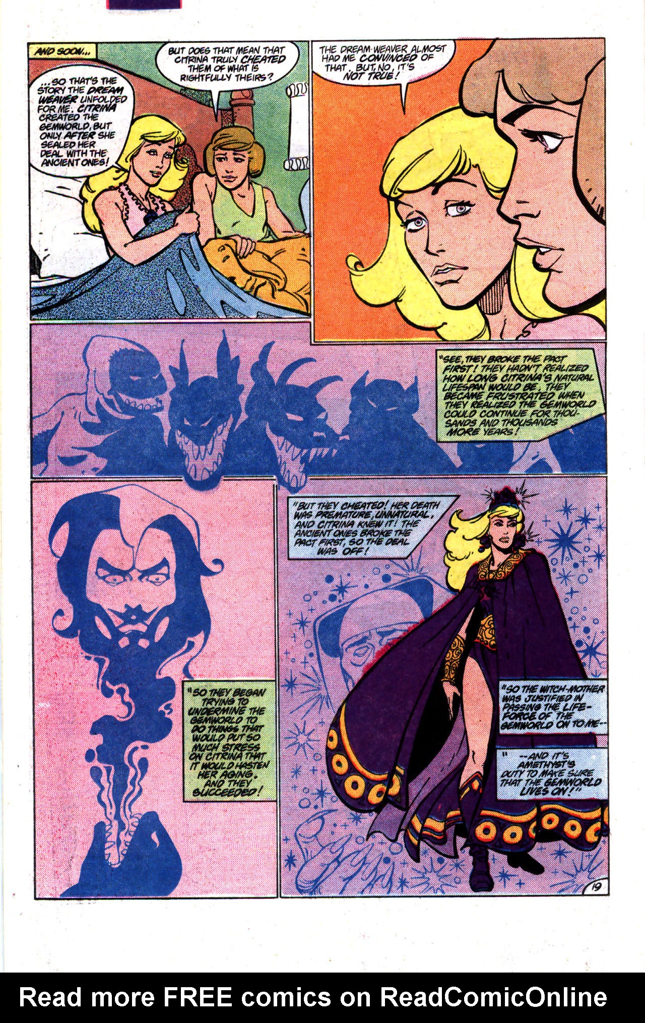 Read online Amethyst (1985) comic -  Issue #9 - 19