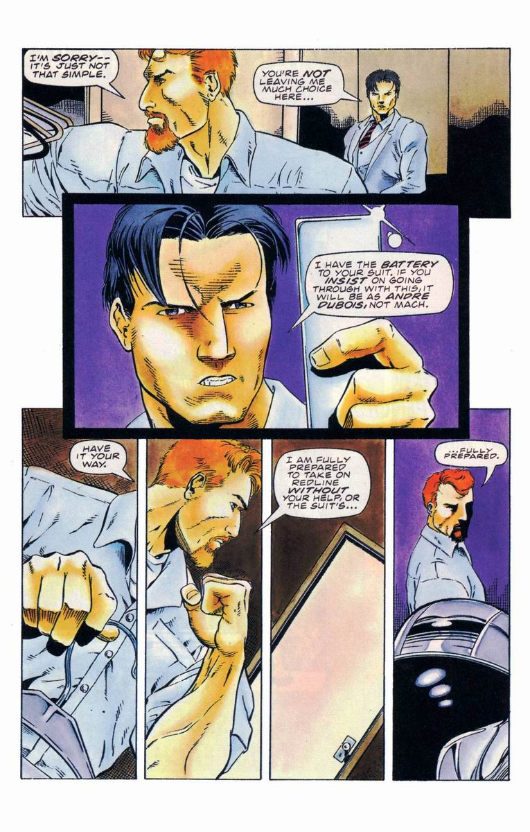 Read online Secret Weapons comic -  Issue #19 - 17