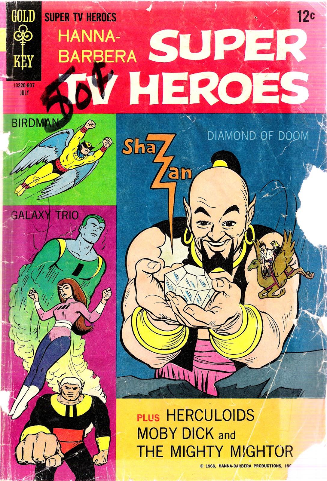 Hanna-Barbera Super TV Heroes 2 Page 1