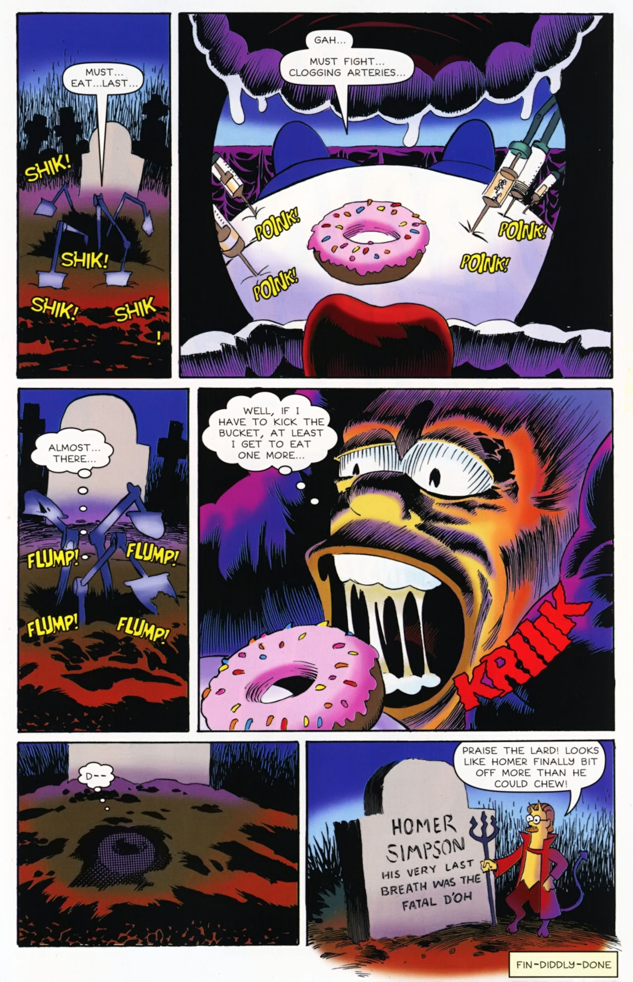 Read online Treehouse of Horror comic -  Issue #16 - 28