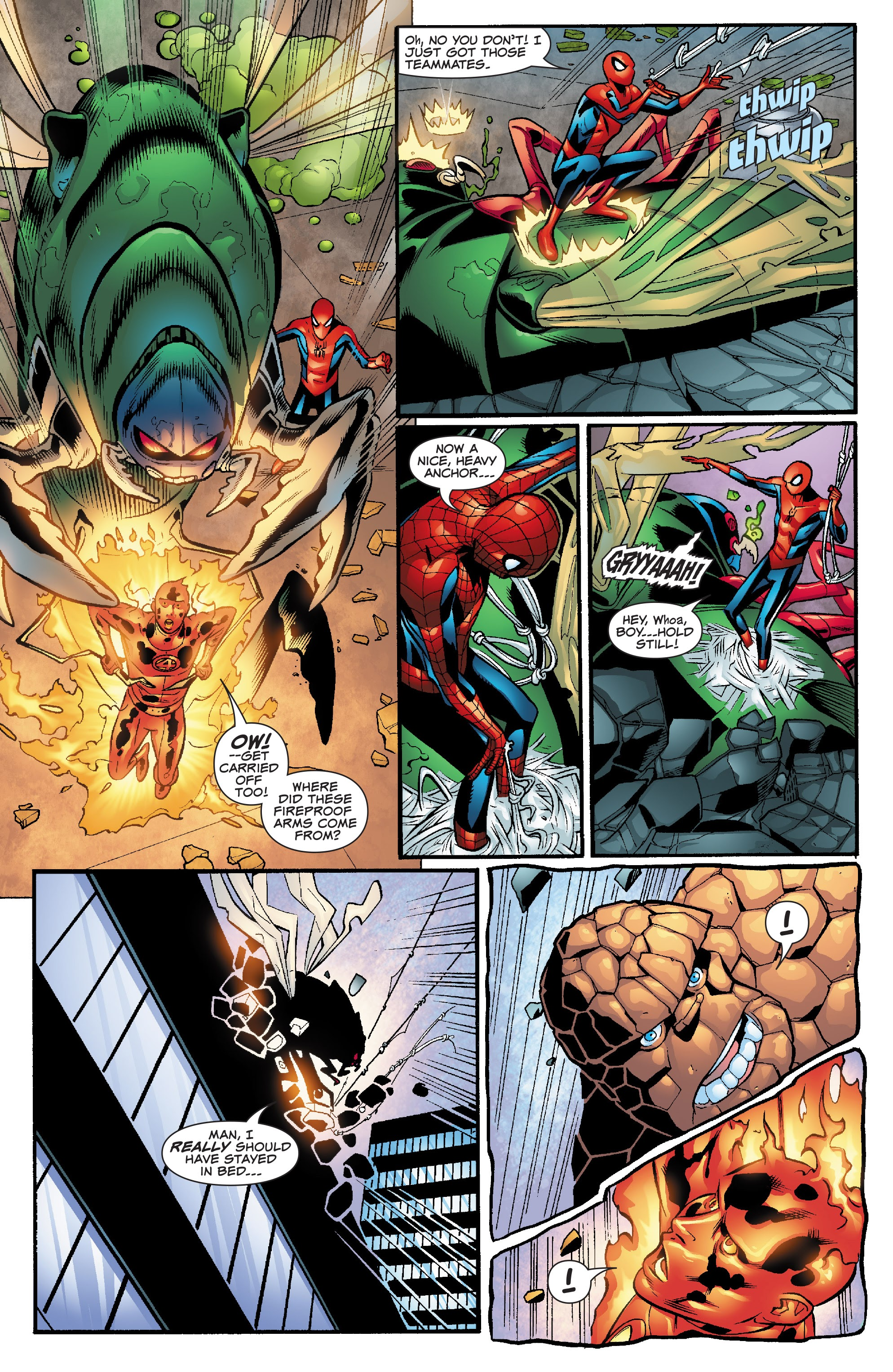 Spider-Man and the Fantastic Four issue 3 - Page 10
